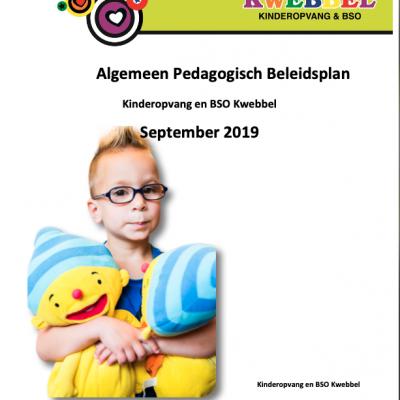 Algemeen-Ped. beleidsplan Kwebbel sep. 2019